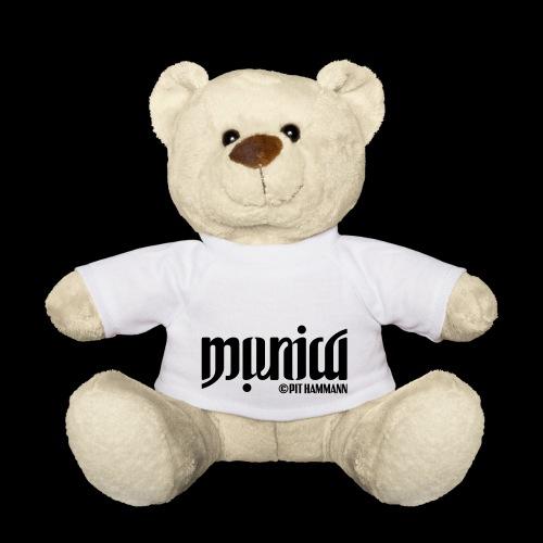 Ambigramm Monica 01 Pit Hammann - Teddy