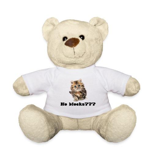 No block kitten - Teddybjørn