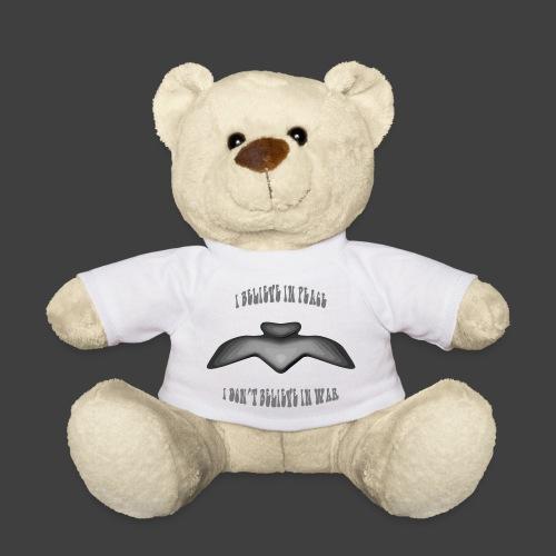 I believe in peace 4 png - Teddy Bear