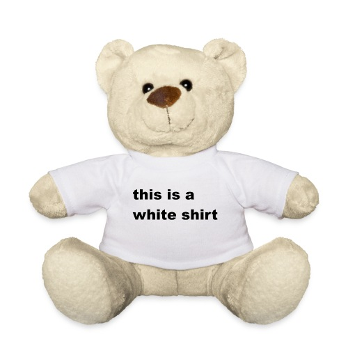 White shirt - Teddy