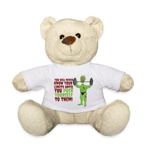 Push yourself - Teddy Bear