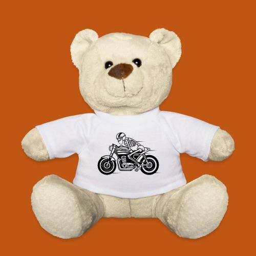 Cafe Racer Motorrad 05_schwarz - Teddy