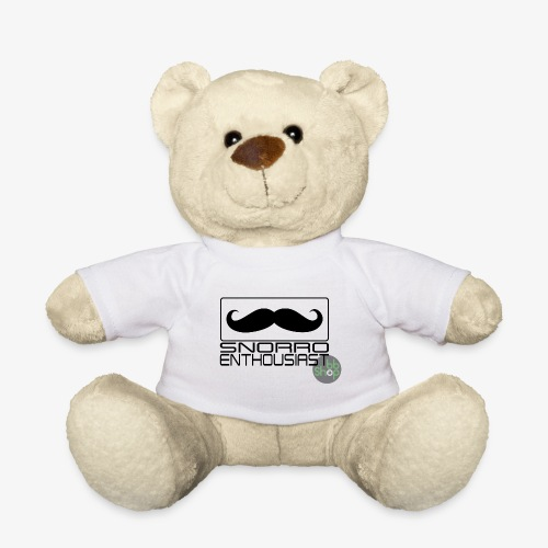 Snorro enthusiastic (black) - Teddy Bear