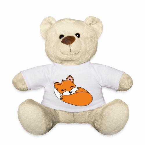 Fuchs schlafend - Teddy
