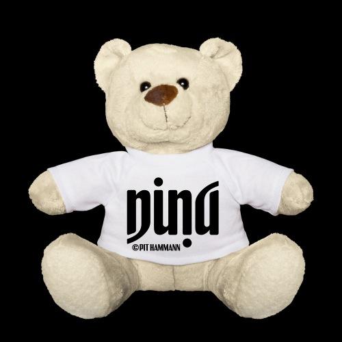 Ambigramm Nina 01 Pit Hammann - Teddy