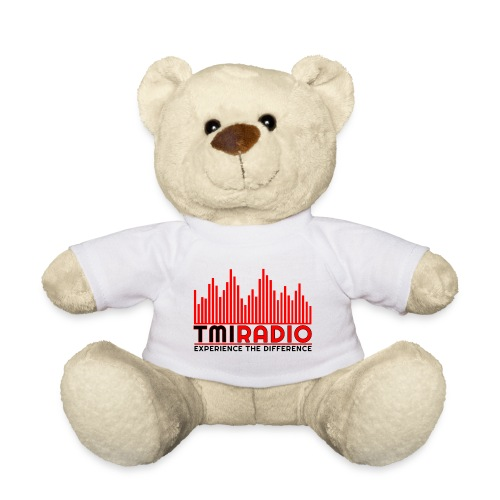 NEW TMI LOGO RED AND BLACK 2000 - Teddy Bear