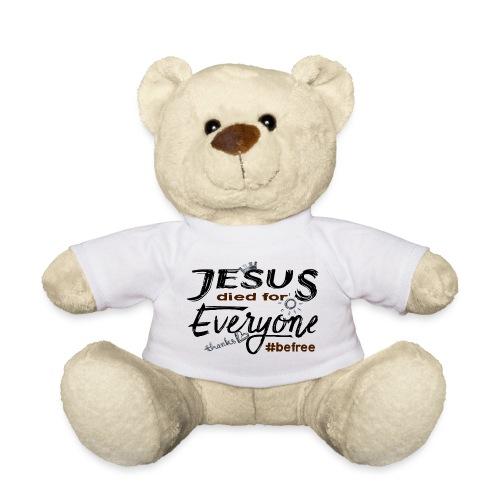 Jesus died for Everyone scwarz - Teddy