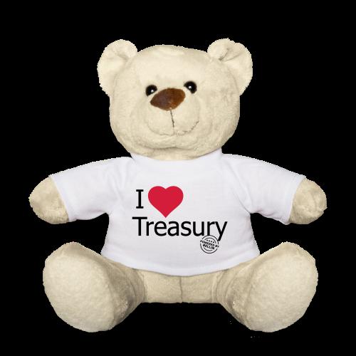 I LOVE TREASURY - Teddy Bear
