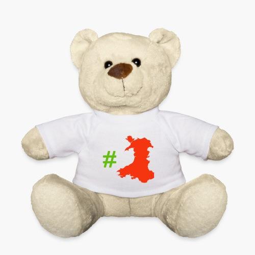 Hashtag Wales - Teddy Bear
