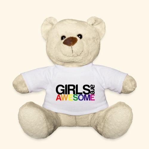 Girls are awesome - Miś w koszulce