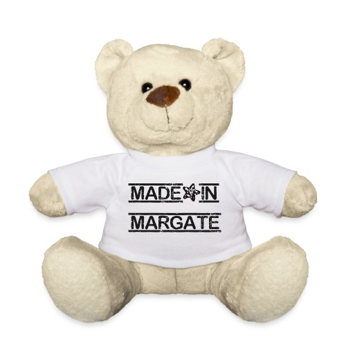 Made in Margate - Black - Teddy Bear