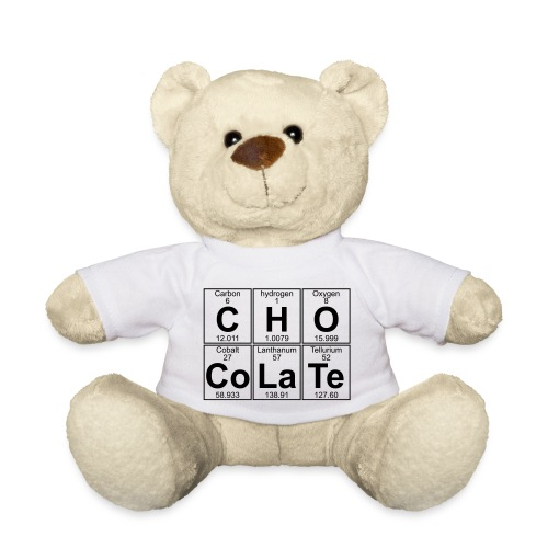 C-H-O-Co-La-Te (chocolate) - Full - Teddy Bear