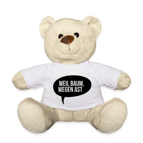 weil Baum wegen Ast - Teddy