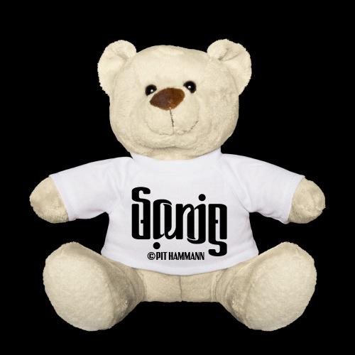 Ambigramm Sonja 01 Pit Hammann - Teddy