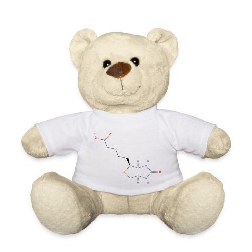 Vitamin H Molecule - Colored Structural Formula - Teddybjørn