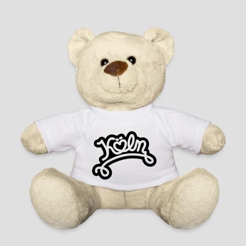 Köln mit Herz - Teddy