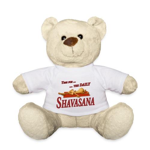 Time for Daily Shavasana - Teddy
