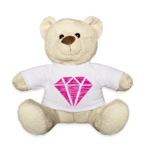 Diamante rosa - Osito de peluche
