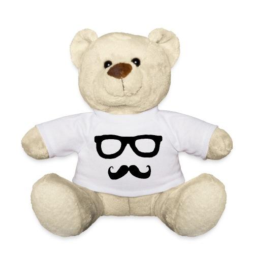 Brille und Schnurrbart - Teddy