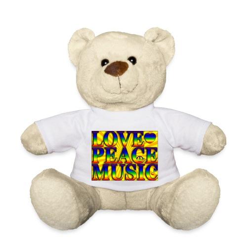 Love Peace and Music - Teddy Bear