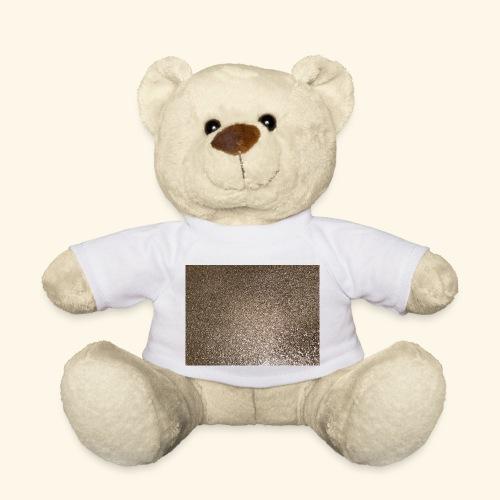 Gold Glitzer als Geschenkidee - Teddy