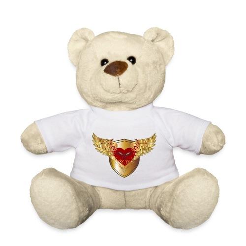 Falkner Schild Greifvogel Liebe Herz Adler Flügel - Teddy