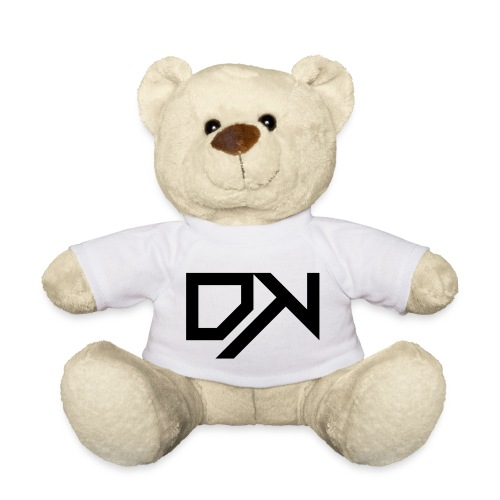 DewKee Logo Cap Black - Teddy Bear