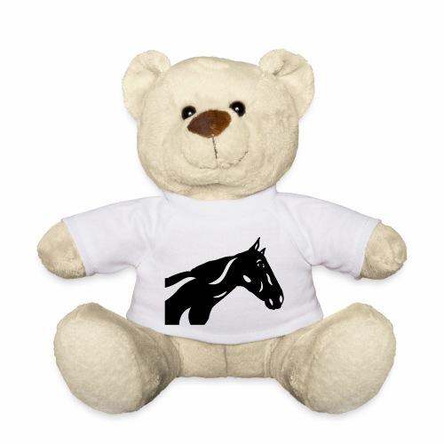 Abstraktes Pferd Crimson - Teddy