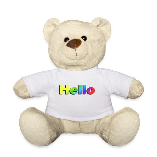 Hello - Miś w koszulce