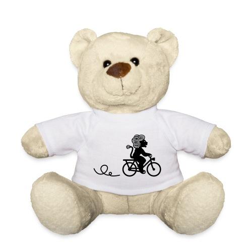 Züri-Leu beim Velofahren ohne Text - Teddy