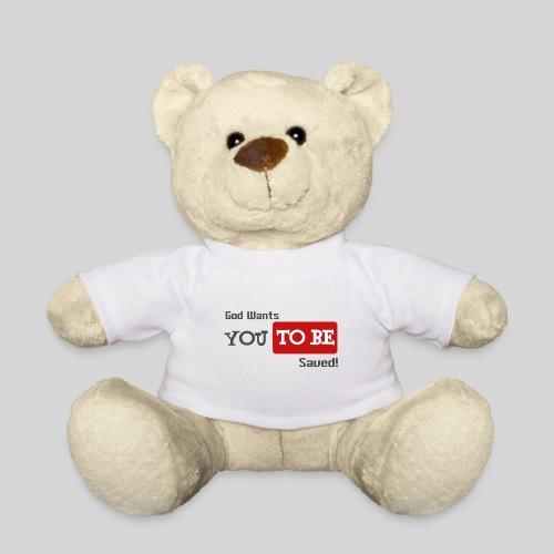 God wants you to be saved Johannes 3,16 - Teddy