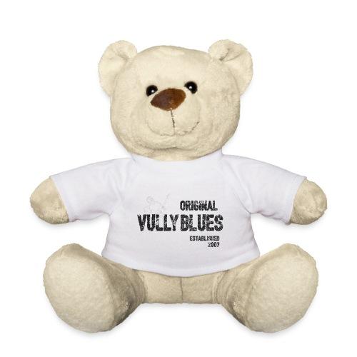 Original Vully Blues Black Logo - Teddy