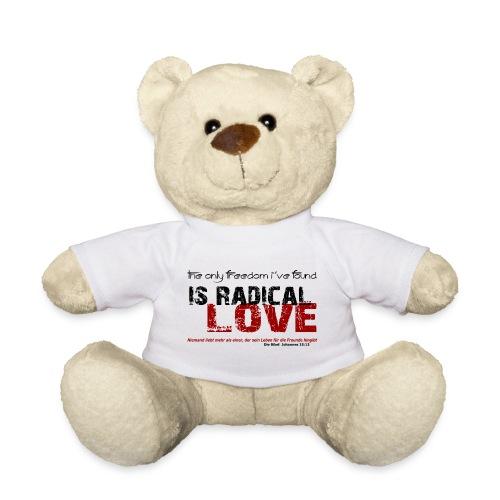 Radikale Liebe black - Teddy
