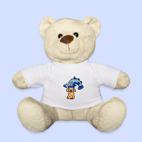 COD8MYdog 8bit - Teddy Bear