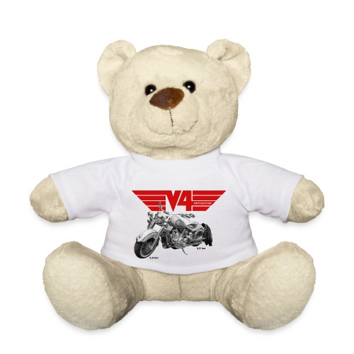 V4 Motorcycles red Wings - Teddy