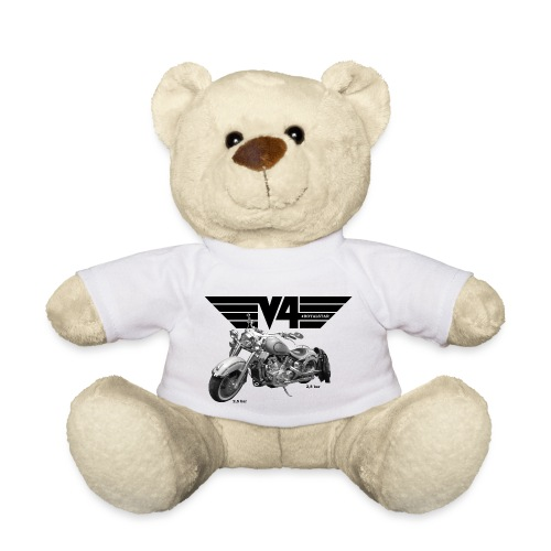 V4 Motorcycles black Wings - Teddy