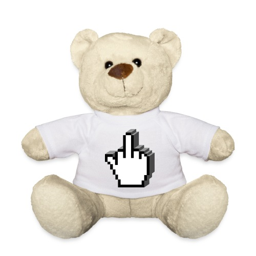 Middle_Finger_Design - Teddy Bear