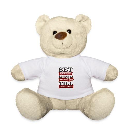 Zielerreichung, Goals - Teddy