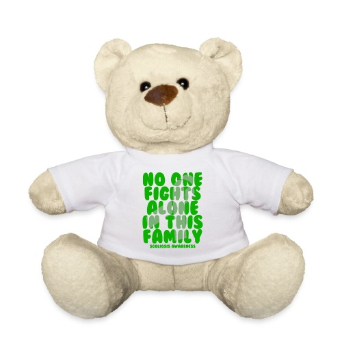 Scoliosis No One Fights Alone in this Family - Teddy Bear