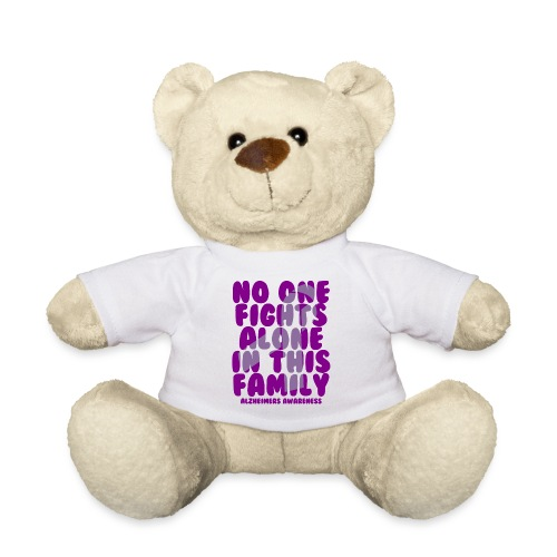 Alzheimer's No One Fights Alone in This Family - Teddy Bear