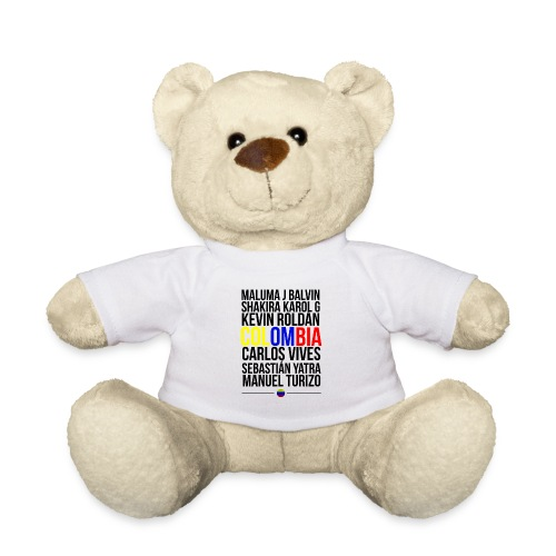 Reggaeton Shirt Kolumbien - Teddy