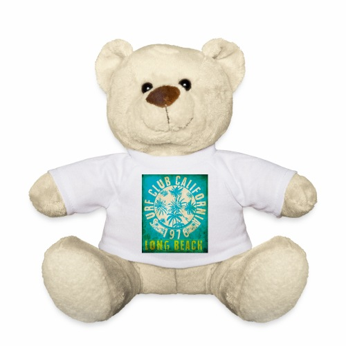 Long Beach Surf Club California 1976 Gift Idea - Teddy Bear