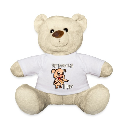 Oh my God pigs maakt mij blij - Teddy