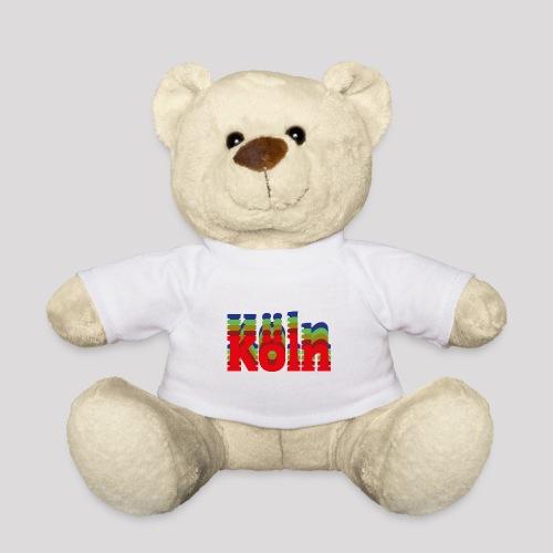 Köln - Stadtnamen rot - Teddy