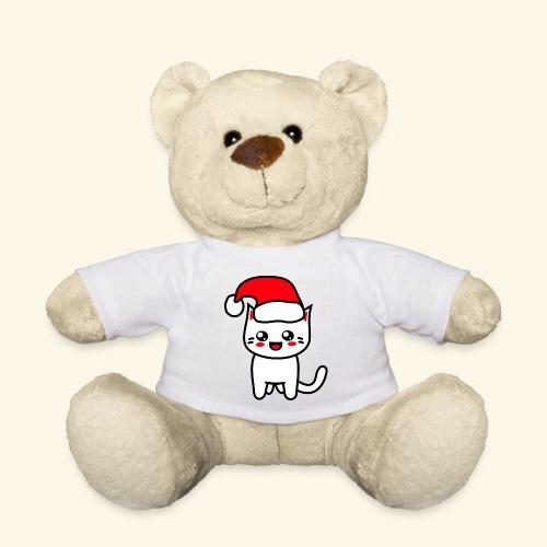 Kawaii Kitteh Christmashat - Teddy