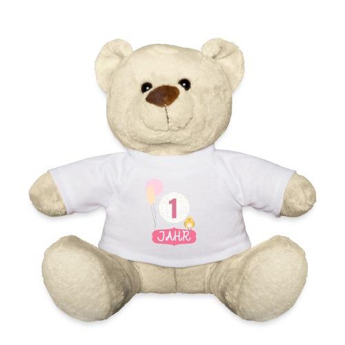 1 Jahr. Das Geburtstag T-Shirt zum 1. Geburtstag. - Teddy