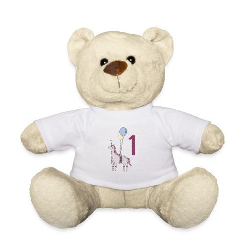 1 Jahr Einhorn / Geschenkidee zum 1. Geburtstag - Teddy