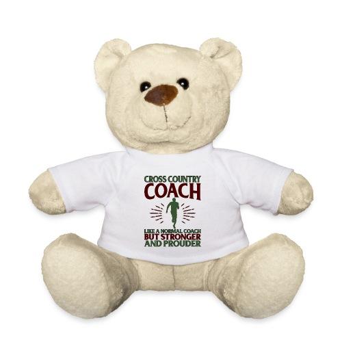 Cross Country Coach Gift Cross Country Coach Like - Teddy Bear