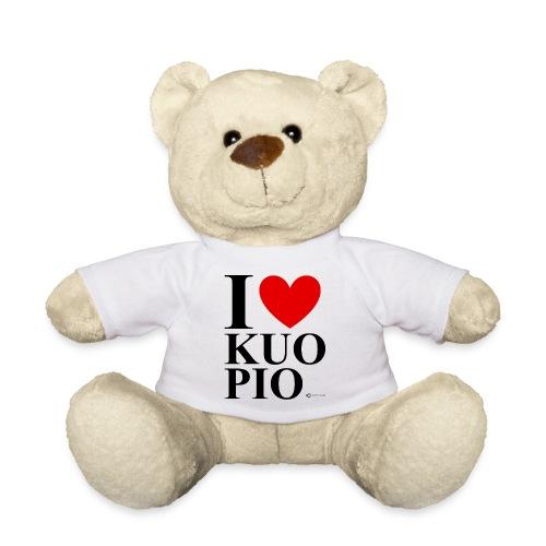I LOVE KUOPIO ORIGINAL (musta) - Nalle