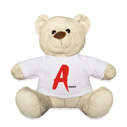 Big Red A Atheism Logo - Teddy Bear